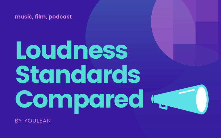 Loudness Standards – Full Comparison Table (music, film, podcast)